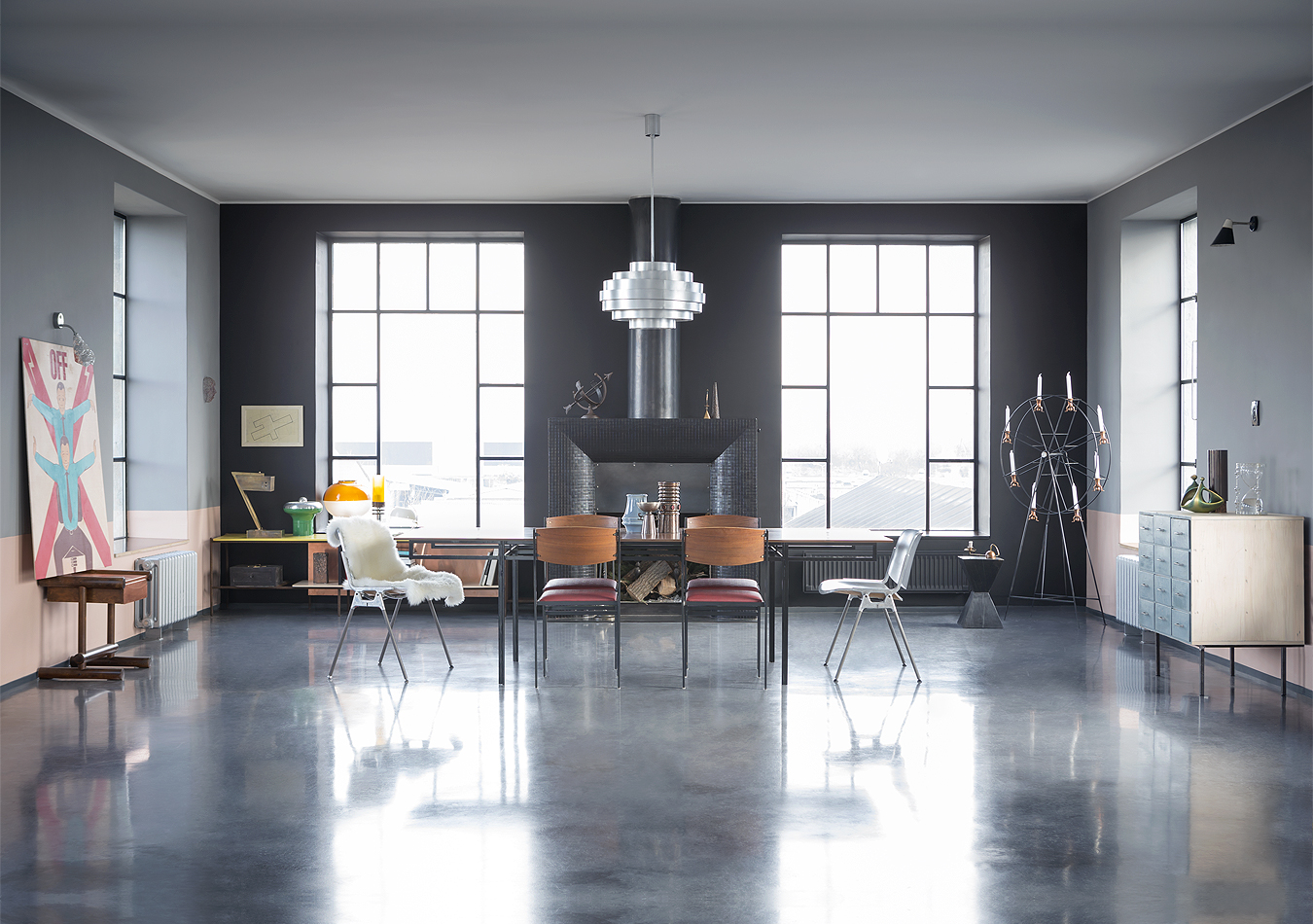 A z loft house a z design studio for Idee amenagement interieur